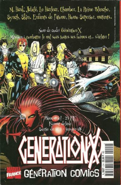 Dos Marvel Méga Hors Série tome 2 - Onslaught (éd. 1998)