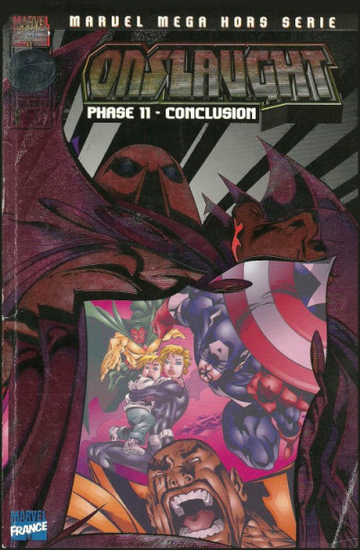 Couverture Marvel Méga Hors Série tome 3 - Onslaught (éd. 1998)