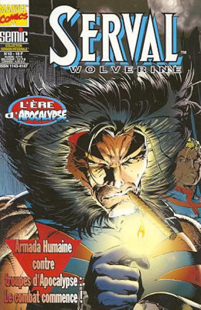 Couverture Serval-Wolverine tome 42 - Serval 42 (éd. 1996)
