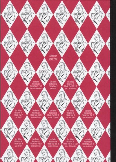 Dos Les Belles Histoires de l'Oncle Paul tome 25 (éd. 2011)
