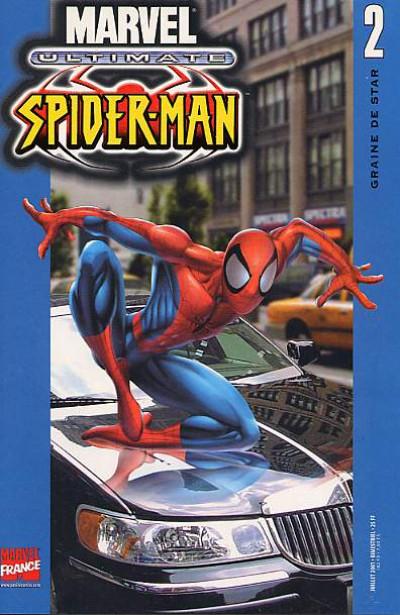 Couverture Ultimate Spider-Man (1re série) tome 2 - Graine de star
