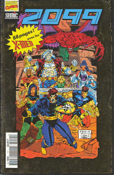 Couverture 2099 tome 11 - 2099 11 (éd. 1994)