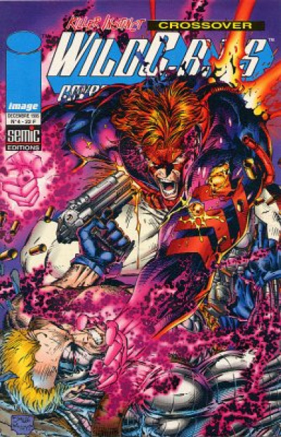 Couverture WildC.A.T.S (Semic 1re série) tome 4
