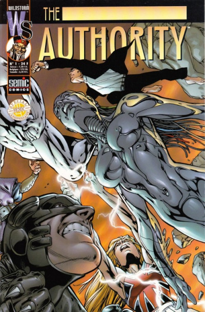 Couverture The authority (1999) tome 1