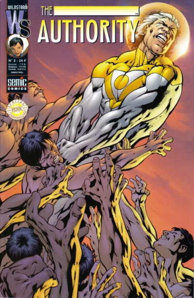 Couverture The authority (1999) tome 2