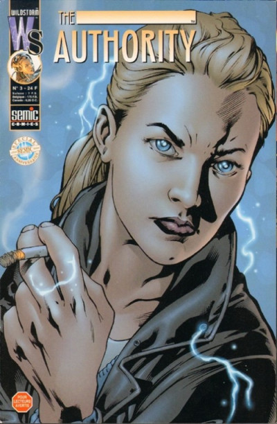 Couverture The authority (1999) tome 3