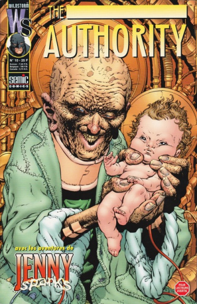 Couverture The authority (1999) tome 10