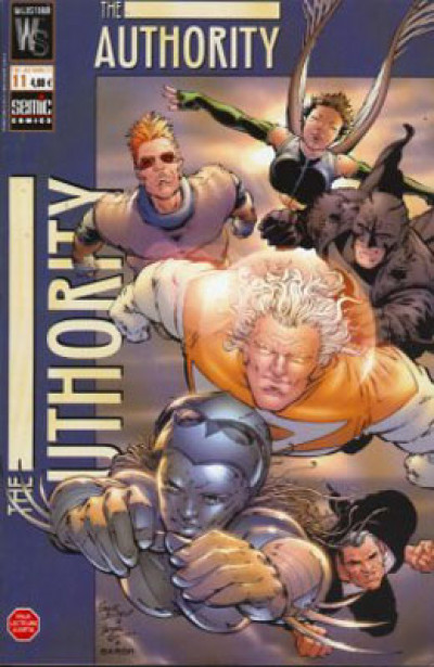 Couverture The authority (1999) tome 11