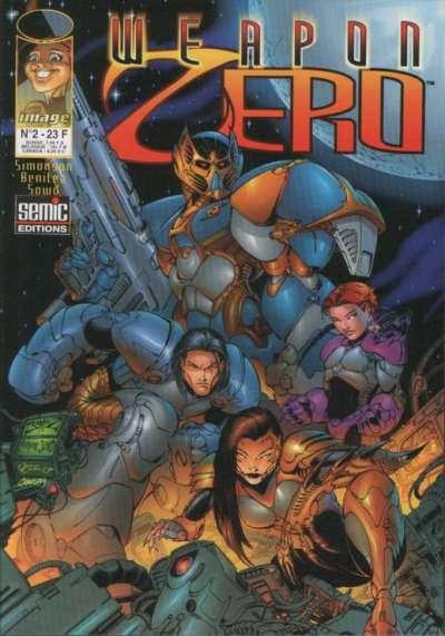 Couverture Weapon Zero tome 2 - Weapon Zero 2 (éd. 1997)