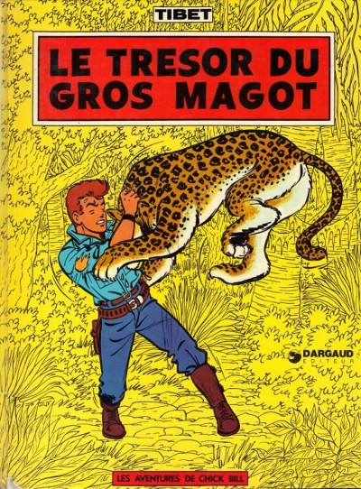 image de Chick Bill tome 4 - Le trésor du gros magot (édition 1974)