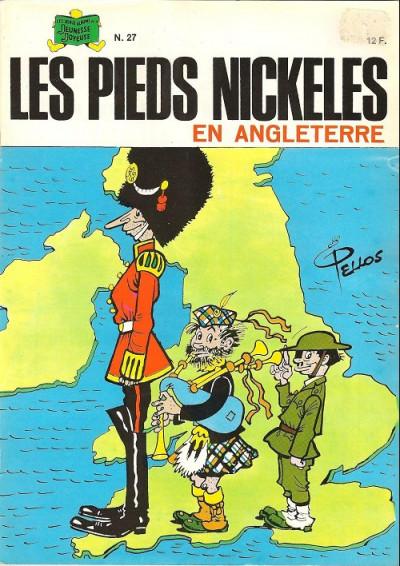 Couverture Les Pieds Nickelés (3e série) (1946-1988) tome 27 - Les Pieds Nickelés en Angleterre