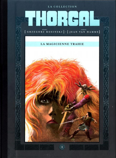 Couverture Thorgal - La collection (Hachette) tome 1