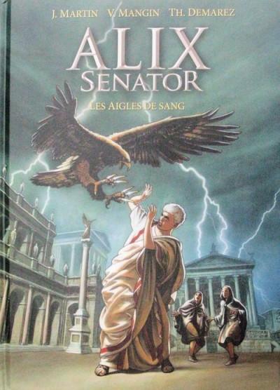 Couverture Alix Senator - tirage de tête tome 1 - Les aigles de sang
