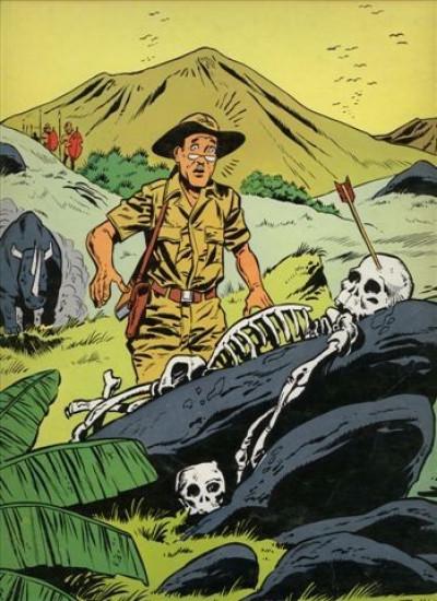 Dos Tiger Joe tome 1 - Le cimetière des éléphants (éd. 1977)