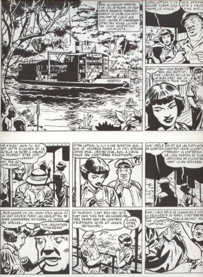 Page 1 Tiger Joe tome 1 - Le cimetière des éléphants (éd. 1977)