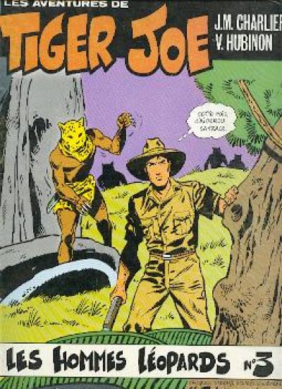 Couverture Tiger Joe tome 3 - Les hommes léopards (éd. 1977)