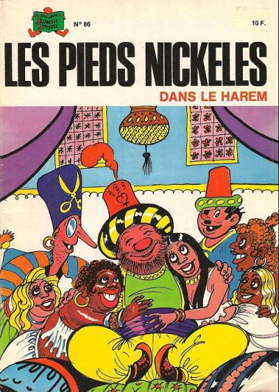 Couverture Les Pieds Nickelés (3e série) (1946-1988) tome 86 - Les pieds nickelés dans le harem