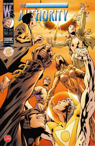 Couverture The authority (1999) tome 4