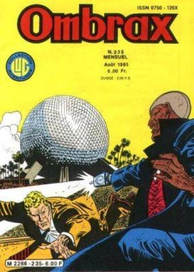 Couverture Ombrax tome 235 - Surgi de l'au-delà (éd. 1985)