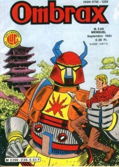 Couverture Ombrax tome 236 - Le monstre d'acier (éd. 1985)