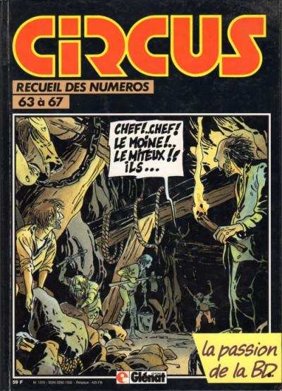 image de (Recueil) Circus (Album du journal) tome 14 - Recueil des n° 63 à 67 (édition 1984)