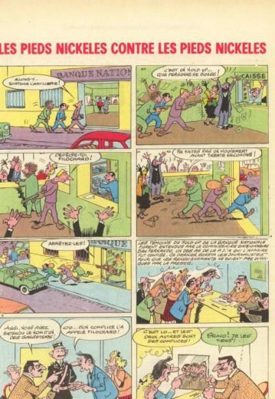 Couverture Pieds Nickelés (Les) - La collection (Hachette) tome 67 - Les Pieds Nickelés contre les Pieds Nickelés (éd. 1970)