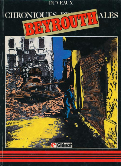 Couverture Chroniques provinciales tome 4 - Beyrouth