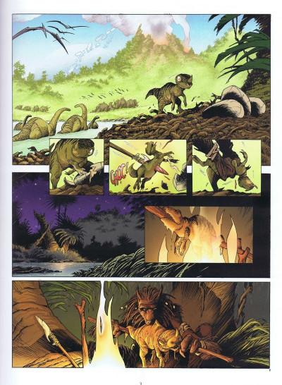 Page 1 Aquablue - tirage de tête tome 9