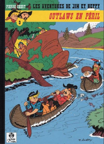 Couverture Les Aventures de Jim l'Astucieux tome 2 - Outlaws en péril (éd. 2013)