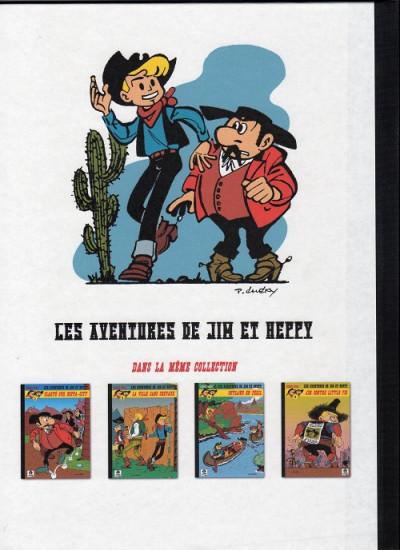 Dos Les Aventures de Jim l'Astucieux tome 2 - Outlaws en péril (éd. 2013)