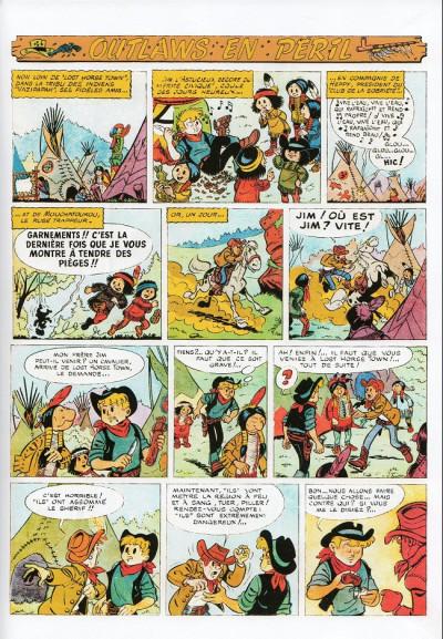 Page 3 Les Aventures de Jim l'Astucieux tome 2 - Outlaws en péril (éd. 2013)