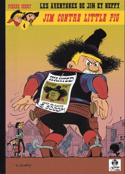 Couverture Les Aventures de Jim l'Astucieux tome 3 - Jim contre little pig (éd. 2013)