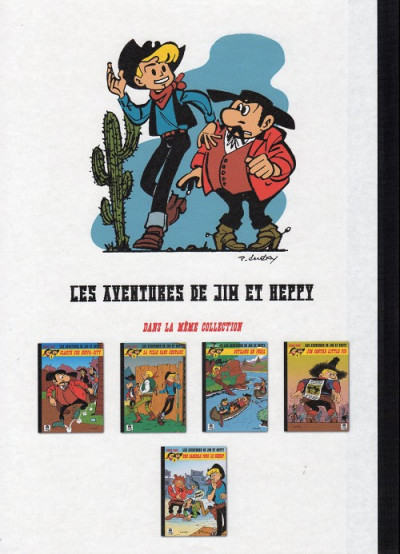 Dos Les Aventures de Jim l'Astucieux tome 5 - Une camisole pour le shérif (éd. 2013)