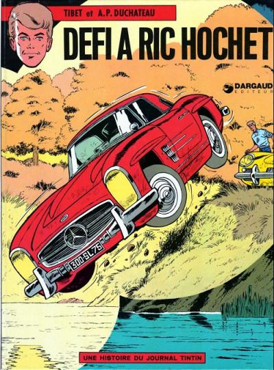 image de Ric Hochet tome 3 - Défi à ric hochet (édition 1974)