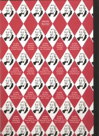Dos Les Belles Histoires de l'Oncle Paul tome 46 (éd. 2013)