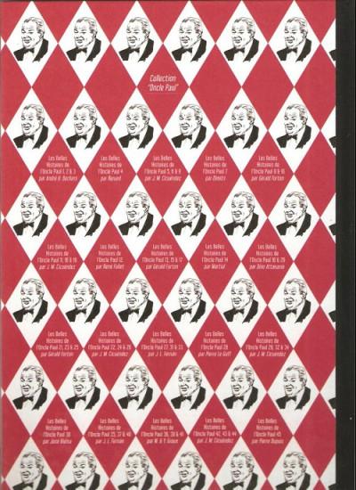 Dos Les Belles Histoires de l'Oncle Paul tome 45 (éd. 2013)