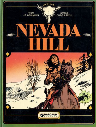 Couverture Nevada Hill tome 1 - Nevada hill (éd. 1974)