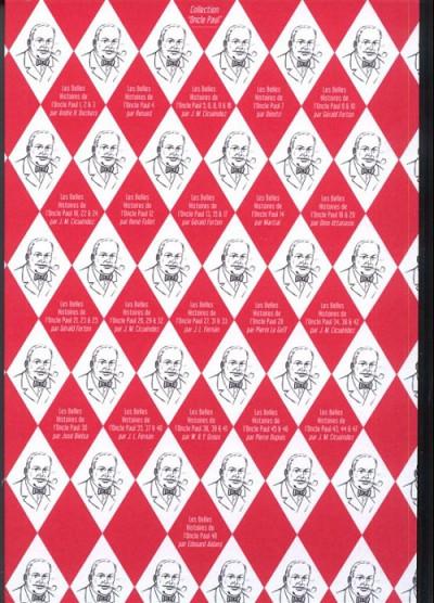 Dos Les Belles Histoires de l'Oncle Paul tome 48 (éd. 2013)