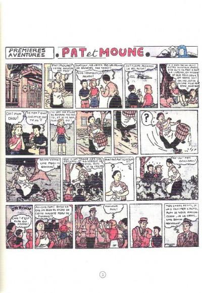Page 3 Pat et Moune tome 1 - Premières aventures (éd. 2014)