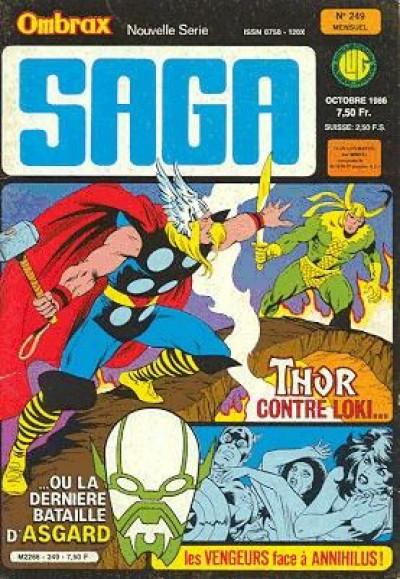 Couverture Ombrax Saga tome 249 - Ombrax Saga 249 (éd. 1986)