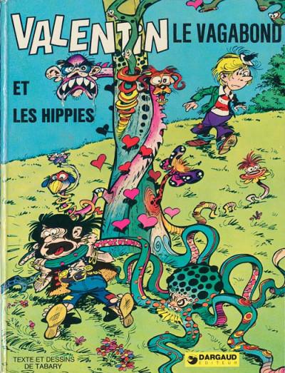 Couverture Valentin le vagabond tome 3 - Valentin et les hippies (éd. 1974)