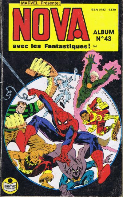 Couverture Nova - Album N°43 (du n°142 au n°144) (éd. 1990)