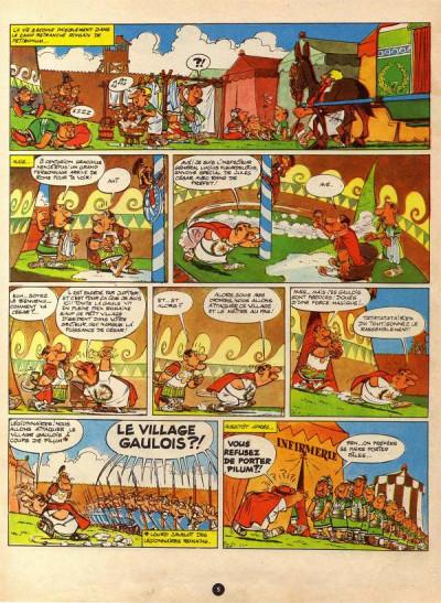 Page 1 Astérix tome 5 - Le tour de Gaule