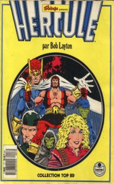 Couverture Top BD tome 17 - Hercule (éd. 1991)