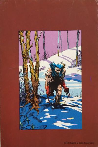 Dos Top BD tome 26 - L'Arme X (éd. 1992)