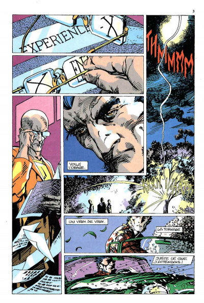 Page 1 Top BD tome 26 - L'Arme X (éd. 1992)