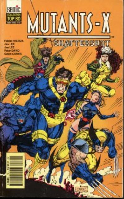 Couverture Top BD tome 30 - Mutants-X - Shattershot (éd. 1993)