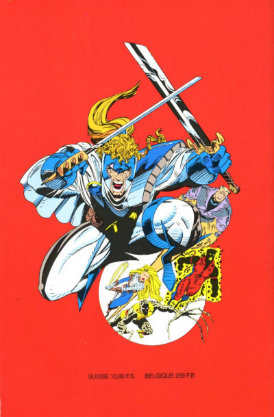 Dos Top BD tome 30 - Mutants-X - Shattershot (éd. 1993)
