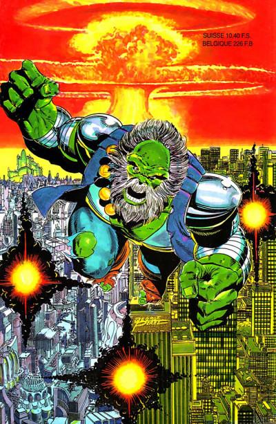 Dos Top BD tome 31 - Hulk - Futur imparfait (éd. 1993)