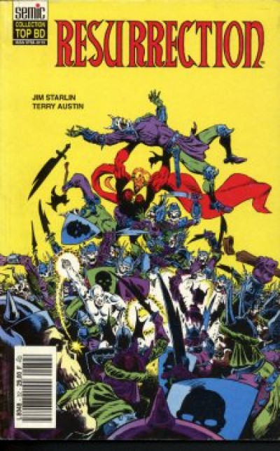 Couverture Top BD tome 32 - Silver Surfer / Warlock - Résurrection (éd. 1993)